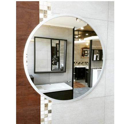 Espejo Redondo Marco Aluminio color 60cm