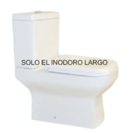 Inodoro Largo Pringles Dionisio Blanco