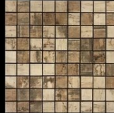 Malla bizantina ceramico 3 x 3 30 x 30 madera lenga 5604