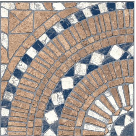 Ceramico piso exterior 40x40 Trentino Terra Cortines