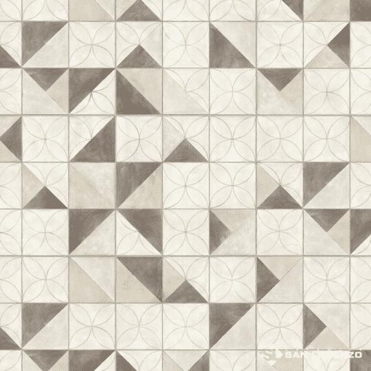 Ceramica San Lorenzo Flower Overlap 45,3 x 45,3 Cj. 2,05 M2