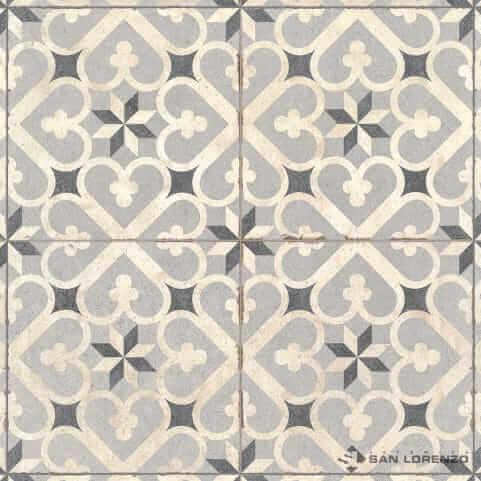 Porcelanato 2da. Antideslizante Calcareo Clover 58x58 San Lorenzo
