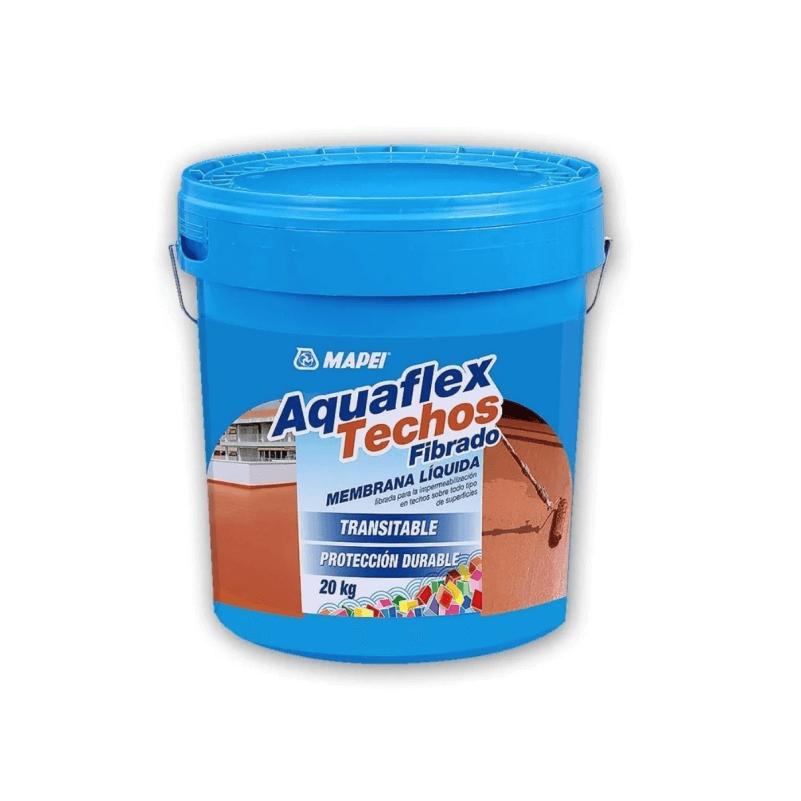 Membrana Liquida Mapei Aquaflex Fibrado X 5 Kgs Rojo