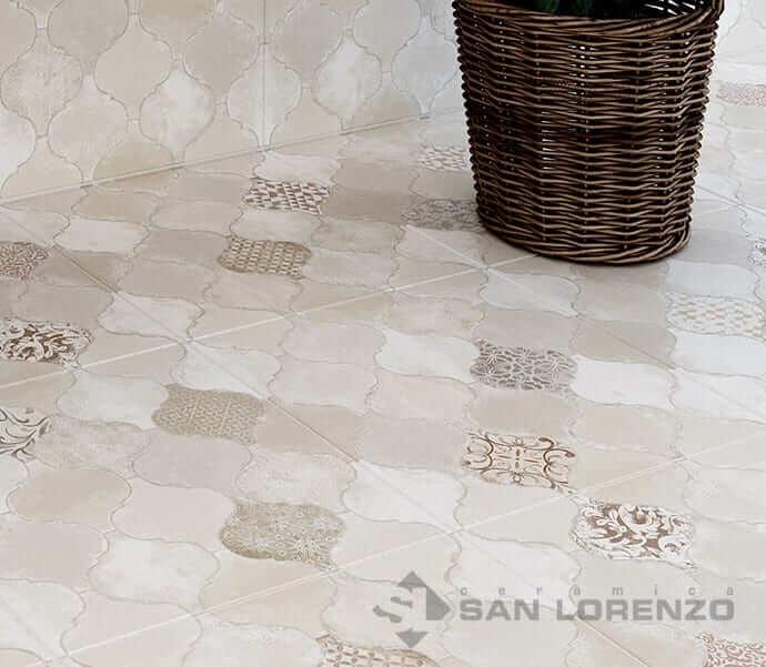 Ceramica San Lorenzo Unique Mix Marfil 45,3X45,3 Cj,2,05 M2.