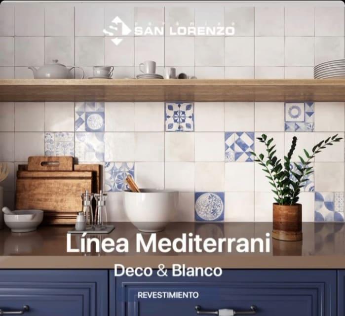 Ceramica San Lorenzo Mediterrani Decorado 45,3 x 45,3 Cj. 2,05 M2