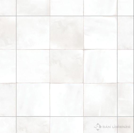 Ceramica San Lorenzo Mediterrani Blanco 45,3 x 45,3 Cj. 2,05 M2