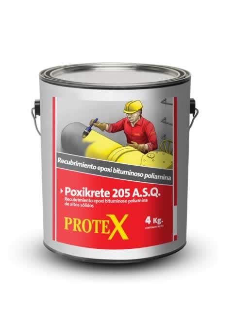 Pintura Epoxi Proxikrete 205 Bituminoso poliamina de altos sólidos. 20kgs.