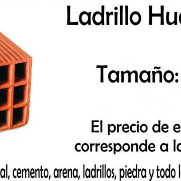 Ladrillo Hueco Ctibor X Pallet (90) 18 X 18 X 33