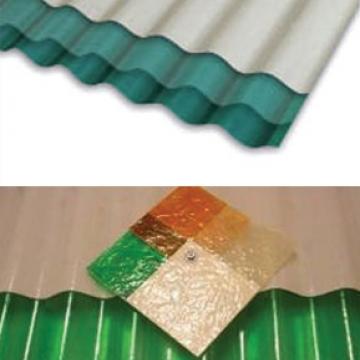 Chapa Plastica  3,30 Mts X 1,10 Mts Verde
