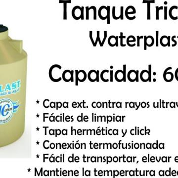Tanque de Agua Tricapa 600 Lts Waterplast
