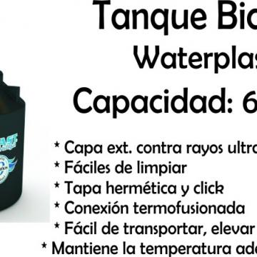 Tanque de Agua Bicapa 600 Lts Waterplast