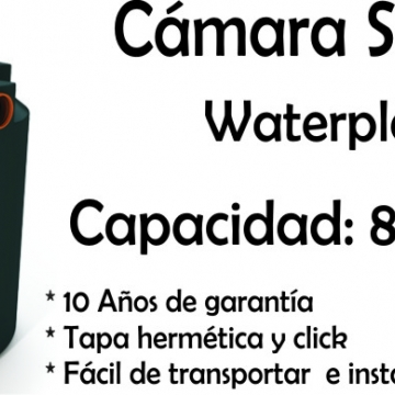 Camara Septica 600 Lts 8 A 12 Personas Waterplast