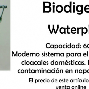 Tanque Biodigestor 1100 Lts Waterplast
