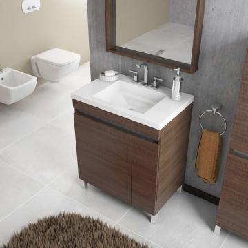 Mueble para Baño Schneider Aqua 40 Cm Carvalho