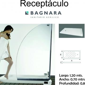 Receptaculo Bagnara  1200X700X80