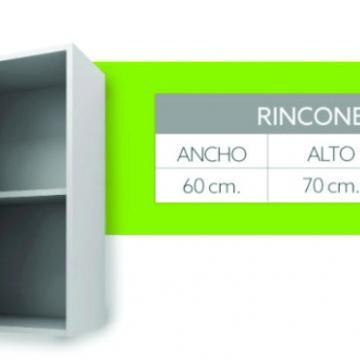 Alacena Rinconera 1 Puerta Itar Edge 0,60 Blanco