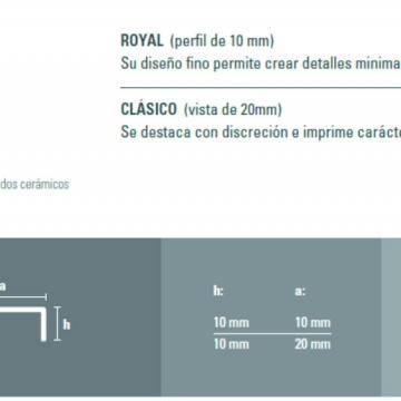 Varilla Listello Acero Atrim 430/02 Esmerilado 20 Mm Clasico