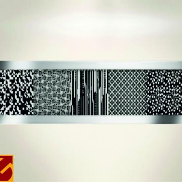 Varilla Listello Acero Atrim 430/03 Brillante 30 mm Emperador