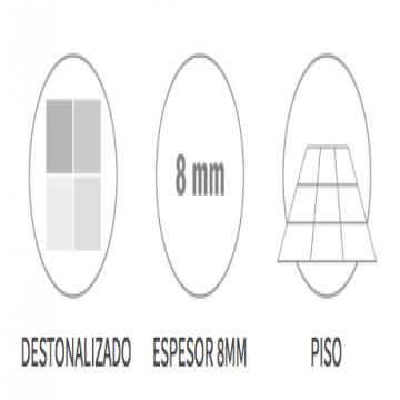 Ceramico San Lorenzo Liston Rustico 45,3X45,3 Cj.2,05 M2