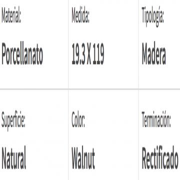 Porcelanato Esmaltado San Lorenzo Biology Walnut 19,3X119 Cj1,38 Mt