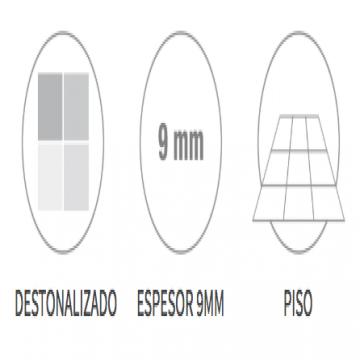 Porcelanato Esmaltado San Lorenzo Foglio Chiaro 58X58 Cj.1,35