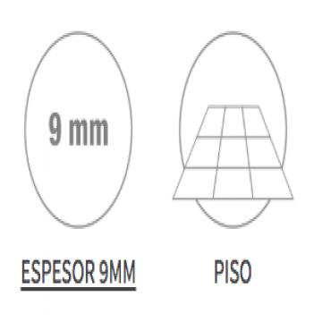 Porcelanato Esmaltado San Lorenzo Oxidum Cuprico 58X58 Cj.1,35