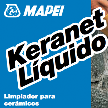 Limpiador Mapei Keranet Liquido X 5 Kgs.