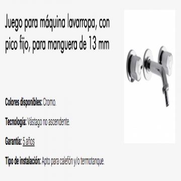 Juego Lavadero Fv Pampa 0401/B6