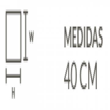 Vanitory Misiones Camerano 40 Cm Blanco
