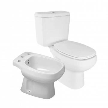 baño ROCA MONACO INODORO DEPOSITO BIDET y tapa