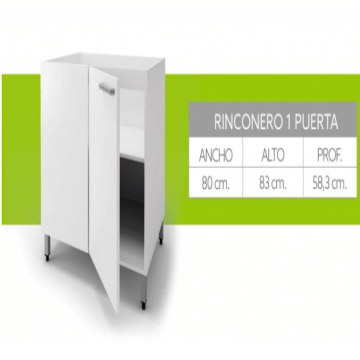 Bajo Rinconero Itar Edge 0,80 Blanco
