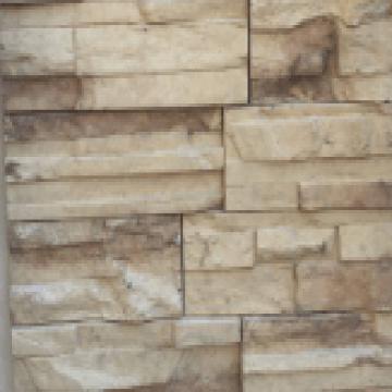 Revestimiento De Cemento Liston Beige Cj X 0,36 M2
