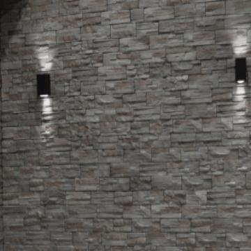 Revestimiento de cemento Liston Gris Cj X 0,36 M2