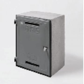 Gabinete Para Medidor De Gas Fibon Con Visor Aprobado 40 X 50 504
