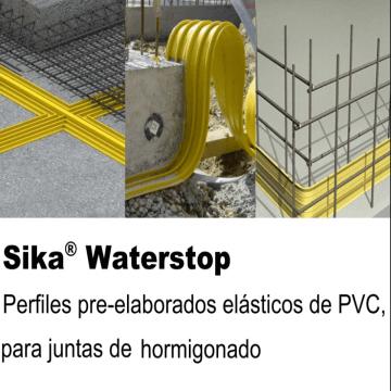 Junta Dilatacion Sika Waterbar V-20 X 20 Mts 96429
