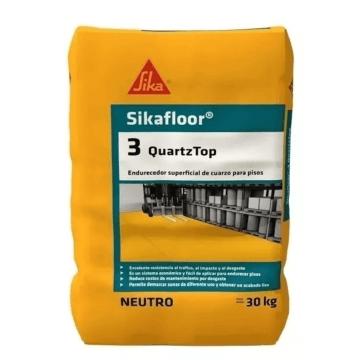 Mortero Sika Sikafloor 3 Quartz Top X 25 Kg. Negro