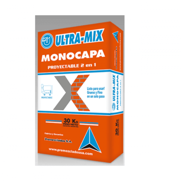 Mortero Ultra Mix Proyect. 2:1 Int. X 30 Kg.