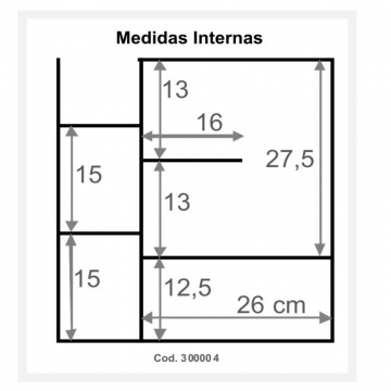 Botiquin Tricolor 300 Colgar 44 X 49