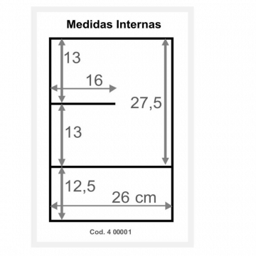 Botiquin Tricolor 400 Colgar 31 X 49