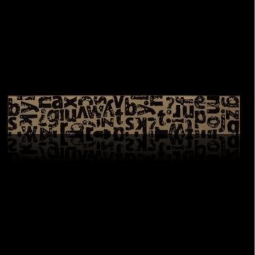 Guarda Bizantina Abc 10 X 60 Negro Beige
