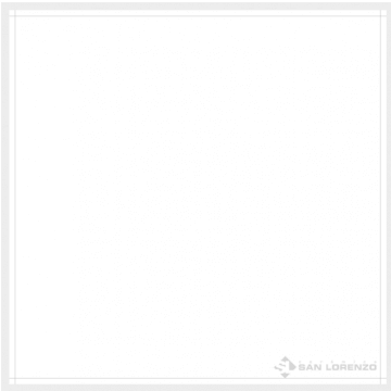 Porcelanato Esmaltado San Lorenzo White Pulido 57.7x57.7 Rectificado