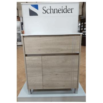 Vanitory 60 cm Caju Nature NO incluye mesada Schneider
