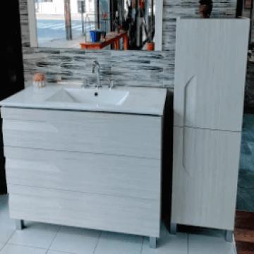 Armario Mueble De Baño Rovere Schneider 40Cm