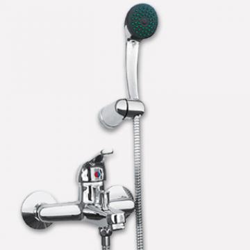 Juego Lluvia Con Transferencia Monocomando Peirano Flush 405 Cr.