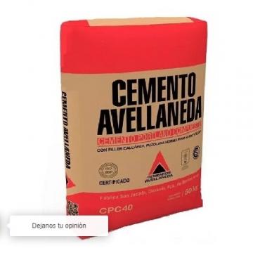 Cemento Avellaneda 50 Kgs.